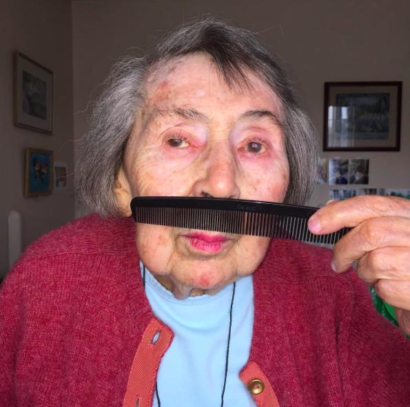 reina de instagram a los 98 años