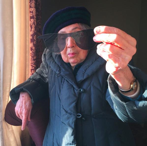 la reina de instagram 98 años