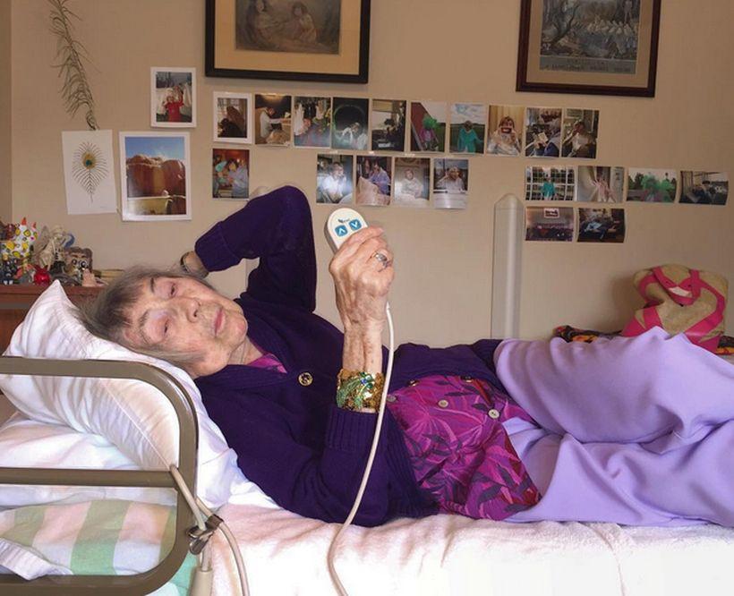 reina de instagram 98 años