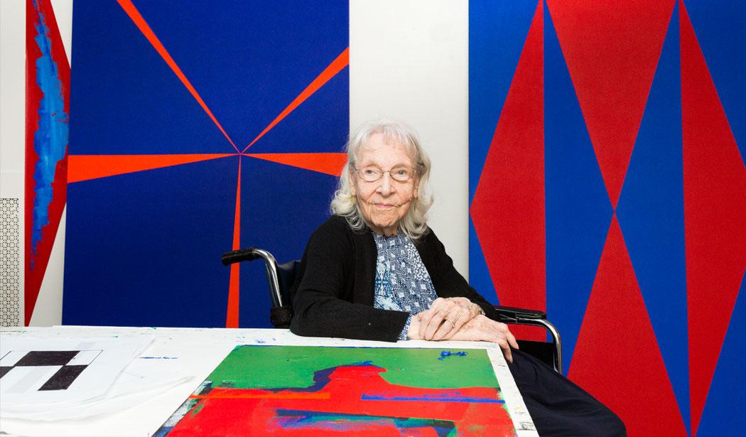 Carmen Herrera Artista Centenaria La Habana New York Envejecimiento Activo Arte Mayores Pintura Minimalista