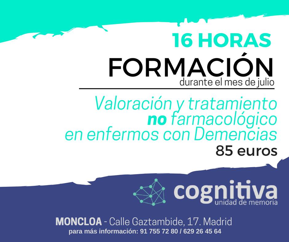 Curso cognitiva Madrid demencias
