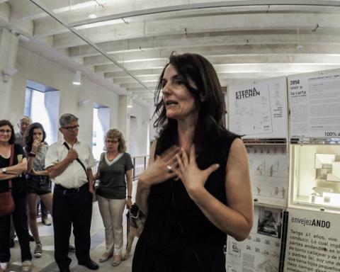 envejezando exposición arquitectura