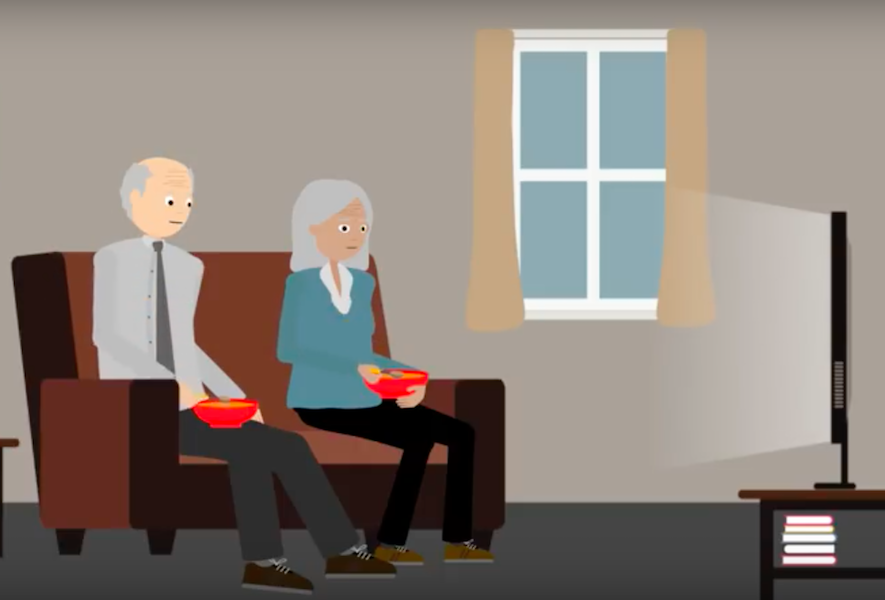 inactividad física personas mayores