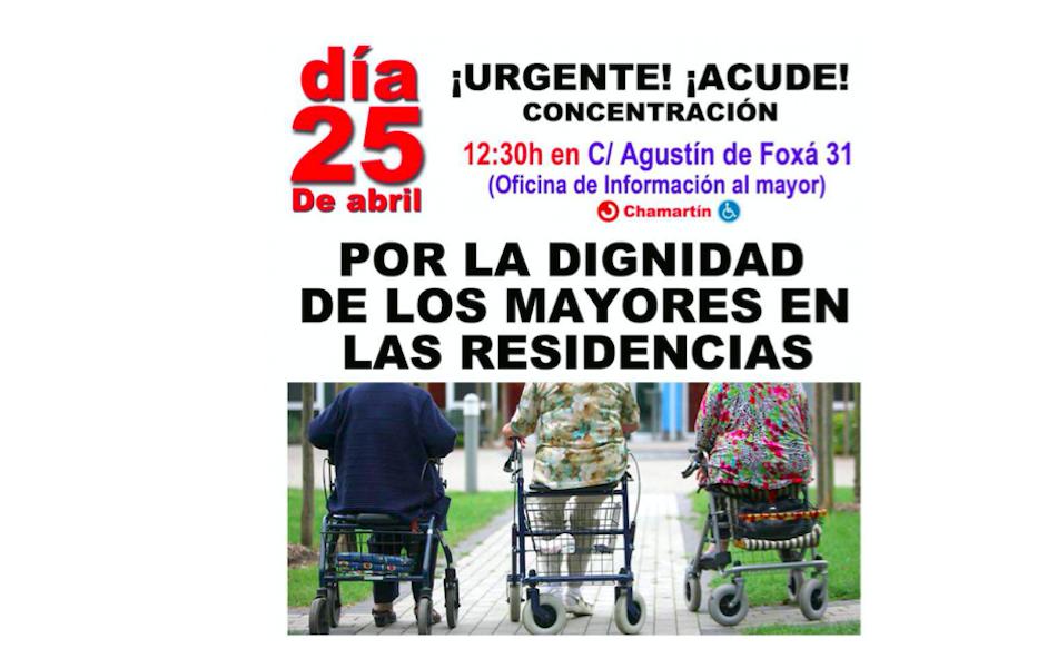 concentracion dignidad residencias maltrato