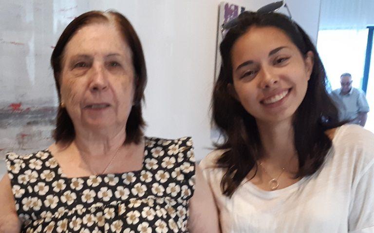 cortometraje Abuela María Ana y Cris