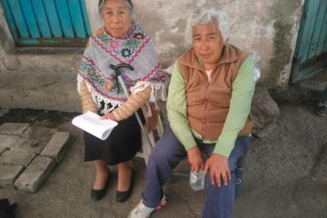 mexico sismos personas mayores