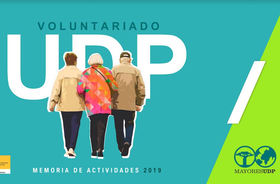 personas mayores Informe Memoria Voluntariado UDP 2019