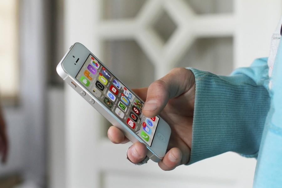 movil iphone salud