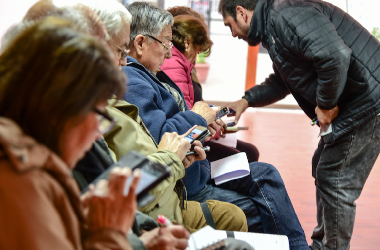 PERSONAS MAYORES chile taller personas mayores