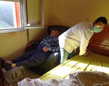 mujer rural ayuda a domicilio