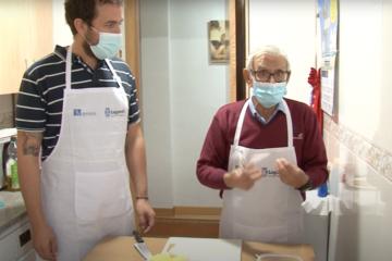mayor chef personas mayores leganés cocina