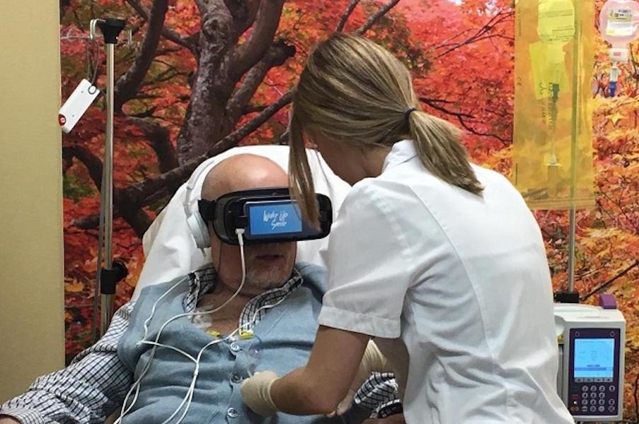 realidad virtual personas mayores