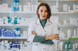 farmacéutico personas mayores