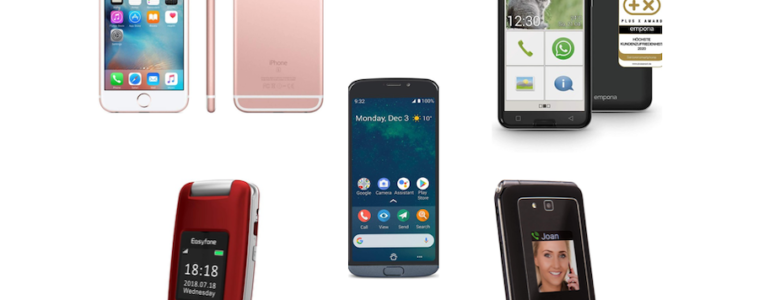 teléfonos móviles para personas mayores