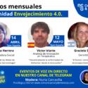 8 Eventos online Envejecimiento 4.0.