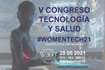 Liderazgo femenino congreso tecnología y salud WomenTech21
